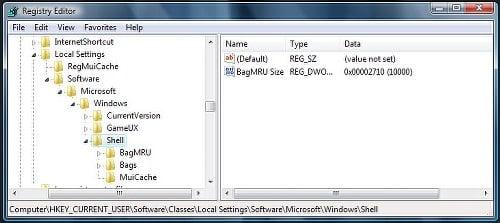 Corrección: Windows olvida la configuración de la vista de carpetas 2