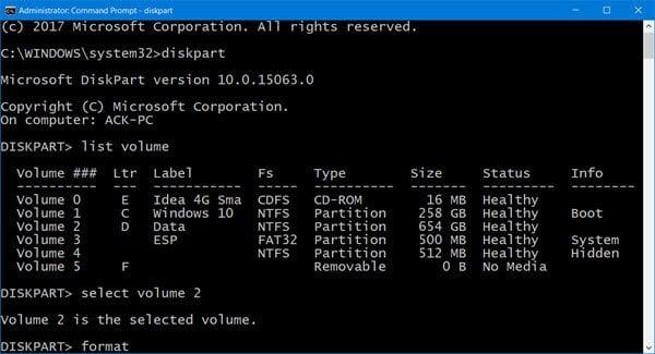 Windows no puede formatear esta unidad. Salga de las utilidades de disco u otros programas que estén utilizando esta unidad.