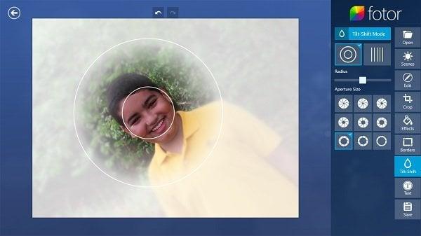 Fotor: Aplicación gratuita de edición de imágenes para Windows 10 7