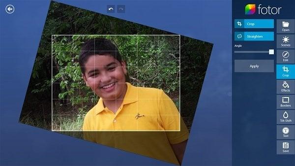 Fotor: Aplicación gratuita de edición de imágenes para Windows 10 5