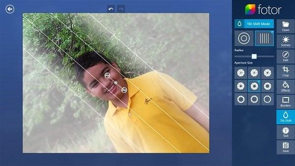 Fotor: Aplicación gratuita de edición de imágenes para Windows 10 8