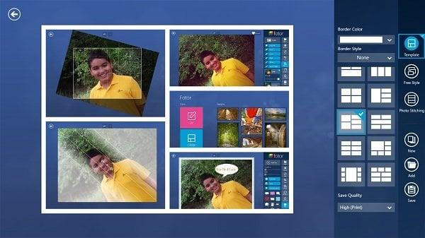 Fotor: Aplicación gratuita de edición de imágenes para Windows 10