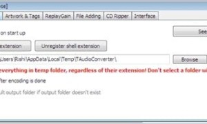 TAudioConverter, un software gratuito de conversión de audio para Windows