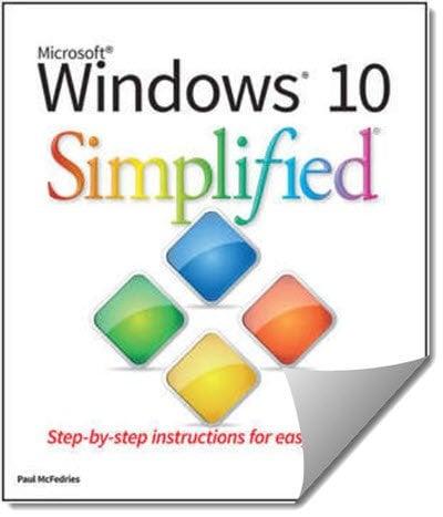 Descargue el libro electrónico simplificado de Windows 10 (valorado en $17) GRATIS por un tiempo limitado.