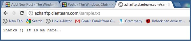 Acceso al servidor FTP mediante el símbolo del sistema de Windows 3