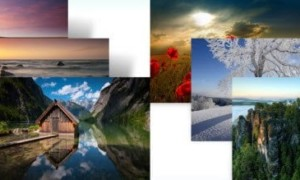 Descargar el tema de Paisajes, montañas y mar alemanes para Windows 7