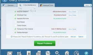 Glary Utilities Software gratuito de optimización de Windows