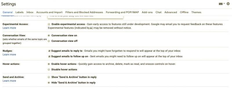 Cómo habilitar y utilizar Nudge en Gmail 1
