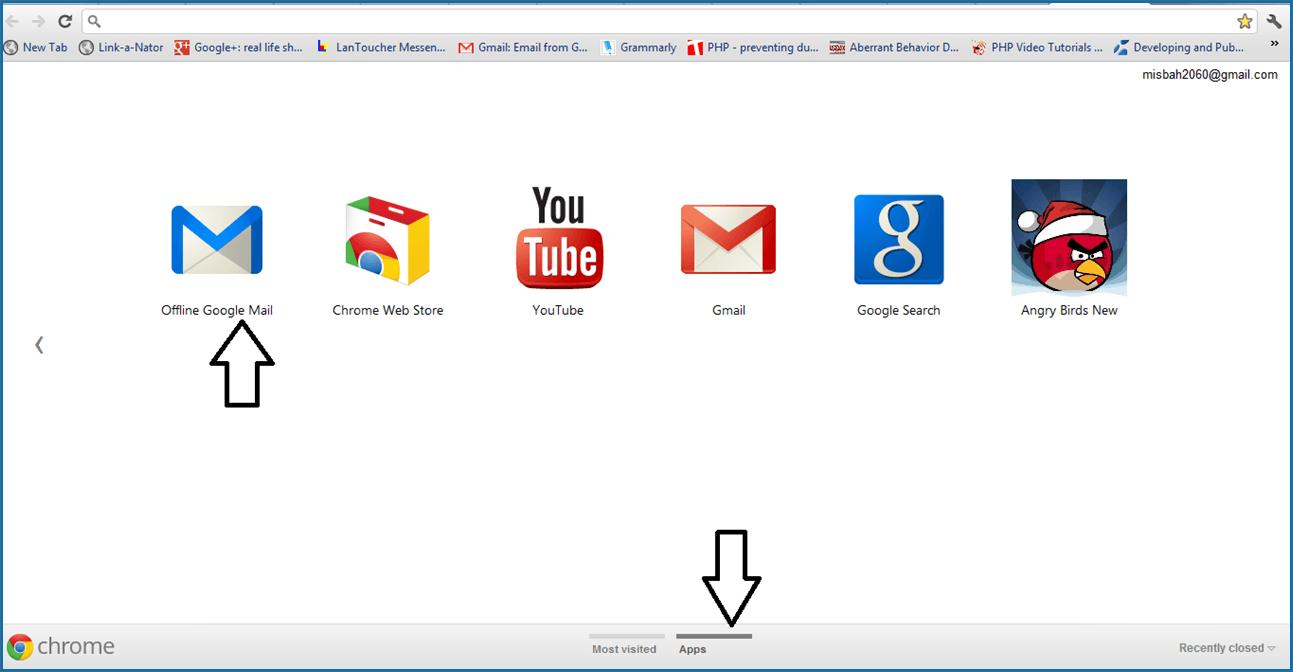 Acceso a Gmail sin conexión con Google Mail sin conexión