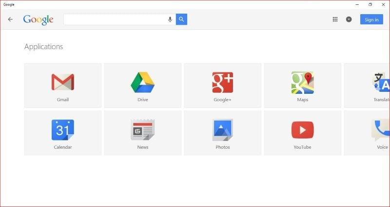 Actualización de Google App para Windows 10: Revisión