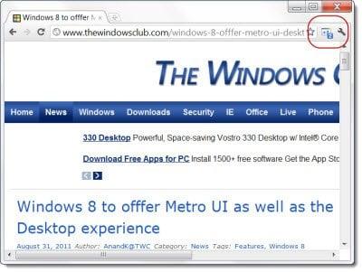 Lanzamiento de la extensión Google +1 para Chrome