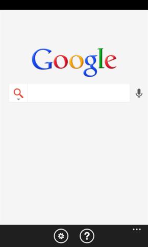 Google lanza una nueva aplicación de búsqueda para Windows Phone