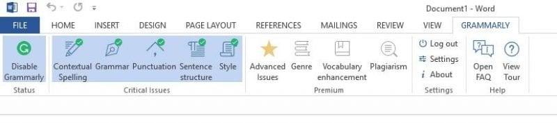 Usar Grammarly gratis en Firefox, Chrome y Microsoft Office