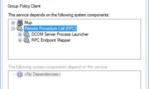 No se pudo conectar a un mensaje de error de servicio de Windows en Windows 10.