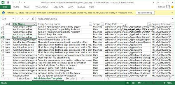 Guía de referencia de configuración de la directiva de grupo para Windows 10/8.1/7/Server