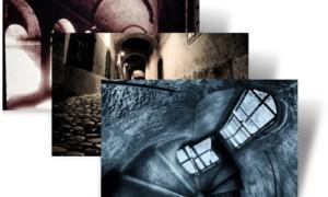 Eerie Cobblestones y Corredores tema de Halloween Windows 7 de Microsoft lanzado