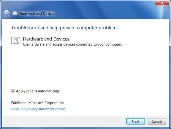 El controlador USB está en un estado fallido o no está instalado actualmente.