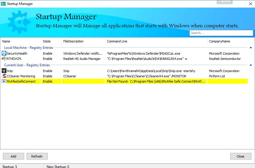 HiBit Uninstaller para Windows le permite desinstalar Programas y Aplicaciones