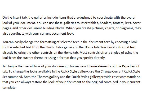 Cómo mostrar y ocultar texto en Word 1