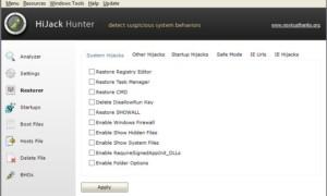 Hijack Hunter: Escanee su PC con Windows en busca de elementos suculentos