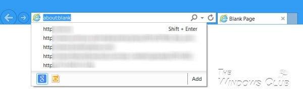 Administrar las listas desplegables de la barra de direcciones de Internet Explorer para completar automáticamente