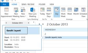 Cómo agregar días festivos al calendario de Outlook