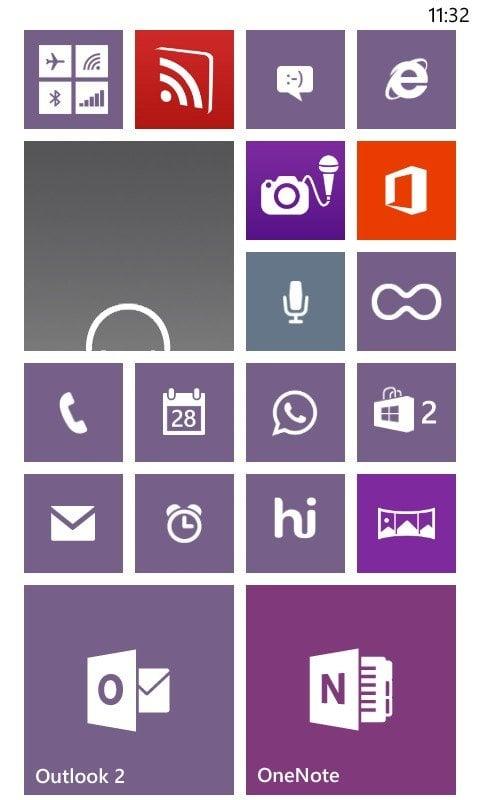 Una toma de un amante de Android en Nokia Lumia 520 Windows Phone 2
