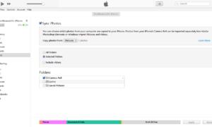 Cómo sincronizar el iPhone con iTunes en Windows 10