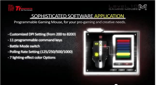 Ratón BMW - Nivel 10 M, ratón para juegos de Thermaltake y BMW Group Dreamworks USA