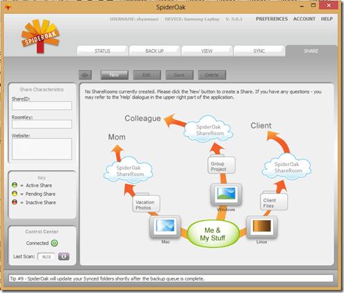 SpiderOak Free Online Backup ofrece la máxima privacidad y seguridad 3