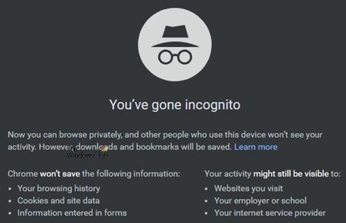 Modo Invitado vs Modo Incógnito en el navegador Chrome