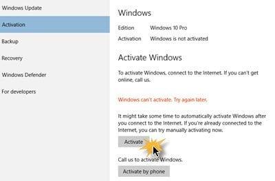 Cómo instalar Windows 10 después de la actualización