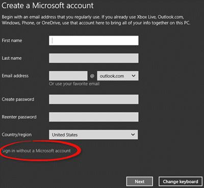 Cómo instalar Windows 10 sin una cuenta de Microsoft 1