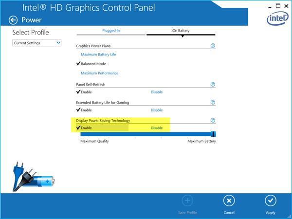 Corrección: Brillo de la pantalla del portátil Windows parpadeando