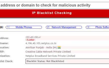 Cómo rastrear la ubicación de la dirección IP