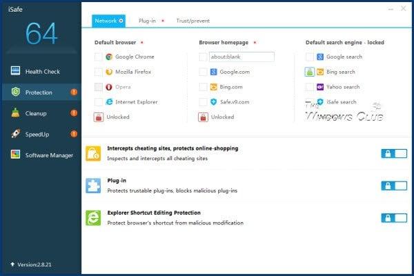 Revisión de iSafe: Comprobar la salud, endurecer la seguridad, limpiar la basura en el PC con Windows 3