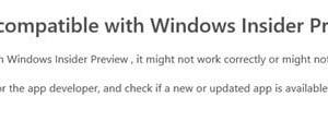 Esta aplicación ya no está disponible como notificación en Windows 10