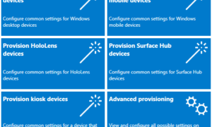 Nuevas características para los profesionales de TI en Windows 10 Creators Update