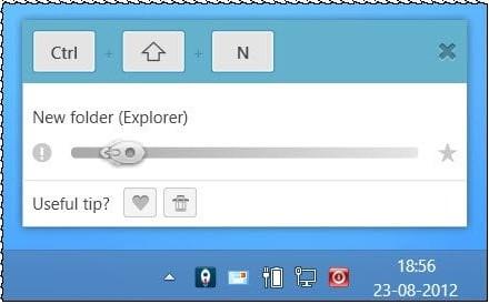 Aprenda los teclados Windows y Office en tiempo real con KeyRocket