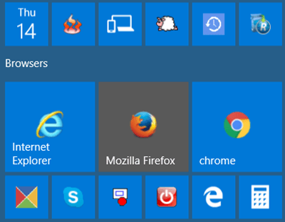 El icono de Google Chrome es demasiado grande en Windows 10