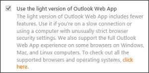 Renderizar Outlook Web App en el modo de compatibilidad de Internet Explorer 11 1