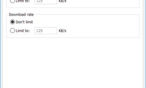 Cómo establecer los límites de la velocidad de transferencia de carga y descarga de OneDrive en Windows 10