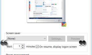Cómo bloquear el equipo después de la inactividad en Windows 10