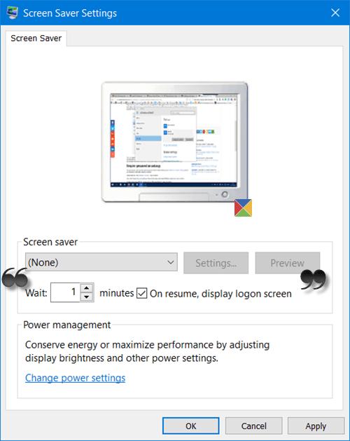 Cómo bloquear el equipo después de la inactividad en Windows 10 1
