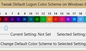 Cambiador de inicio de sesión para Windows 8: Personalizar el fondo de pantalla y los colores de la pantalla de inicio de sesión