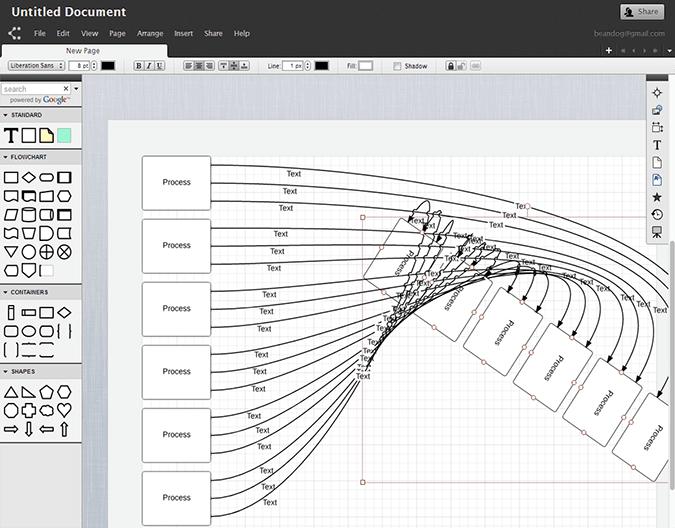 Las mejores herramientas gratuitas de creación de diagramas de flujo en línea 3