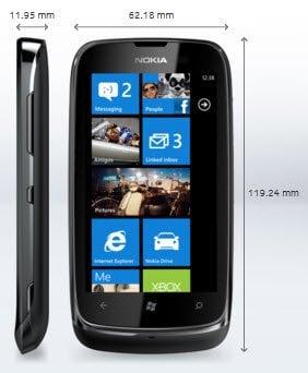 Nokia lanza Lumia 610 Windows Phone con el precio de Rs. 12999 en la India