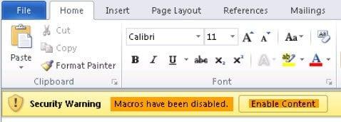 ¿Qué es el Macro Virus?  ¿Cómo activar o desactivar las macros en Office? 2
