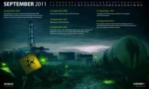 Descargue los fondos de pantalla del calendario del historial de malware de Kaspersky