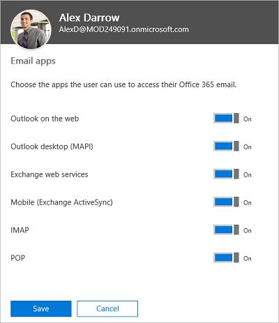 Nuevas funciones del Centro de administración de Office 365
